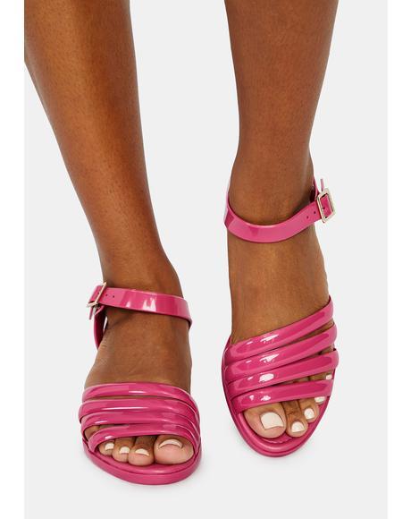 Flirty York Jelly Sandals