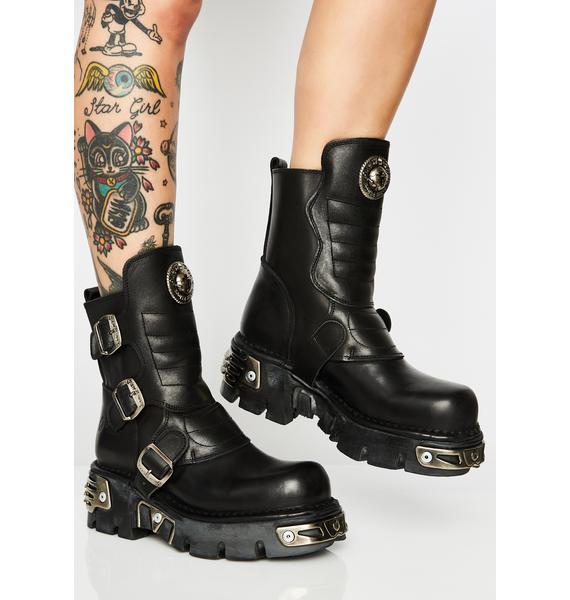 New Rock Reactor Boots