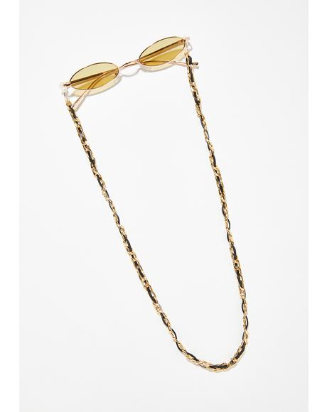 Golden Gal Sunglass Chain