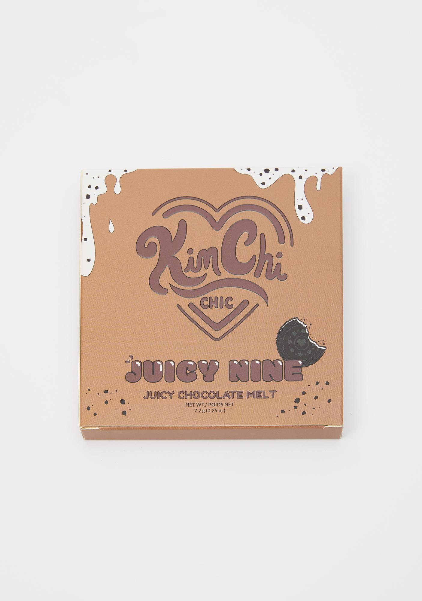 KimChi Chic Beauty Juicy Nine Juicy Chocolate Melt Eyeshadow Palette