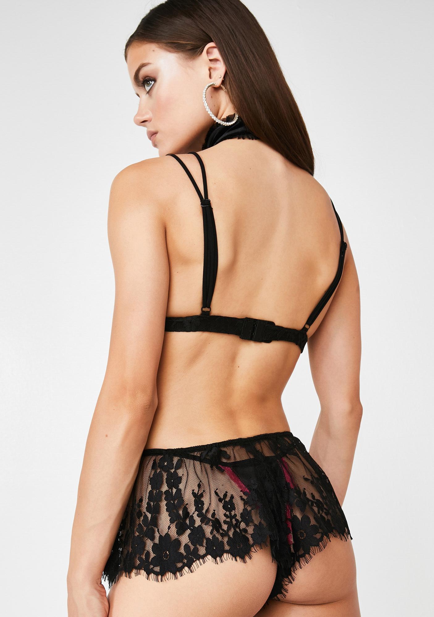 Sugar Thrillz Dita Divine Lace Shorts