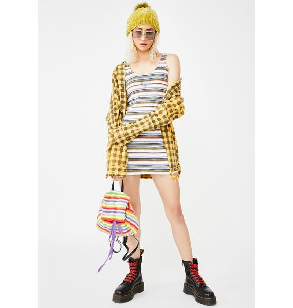 Why Not Us Towel Stripe Dress