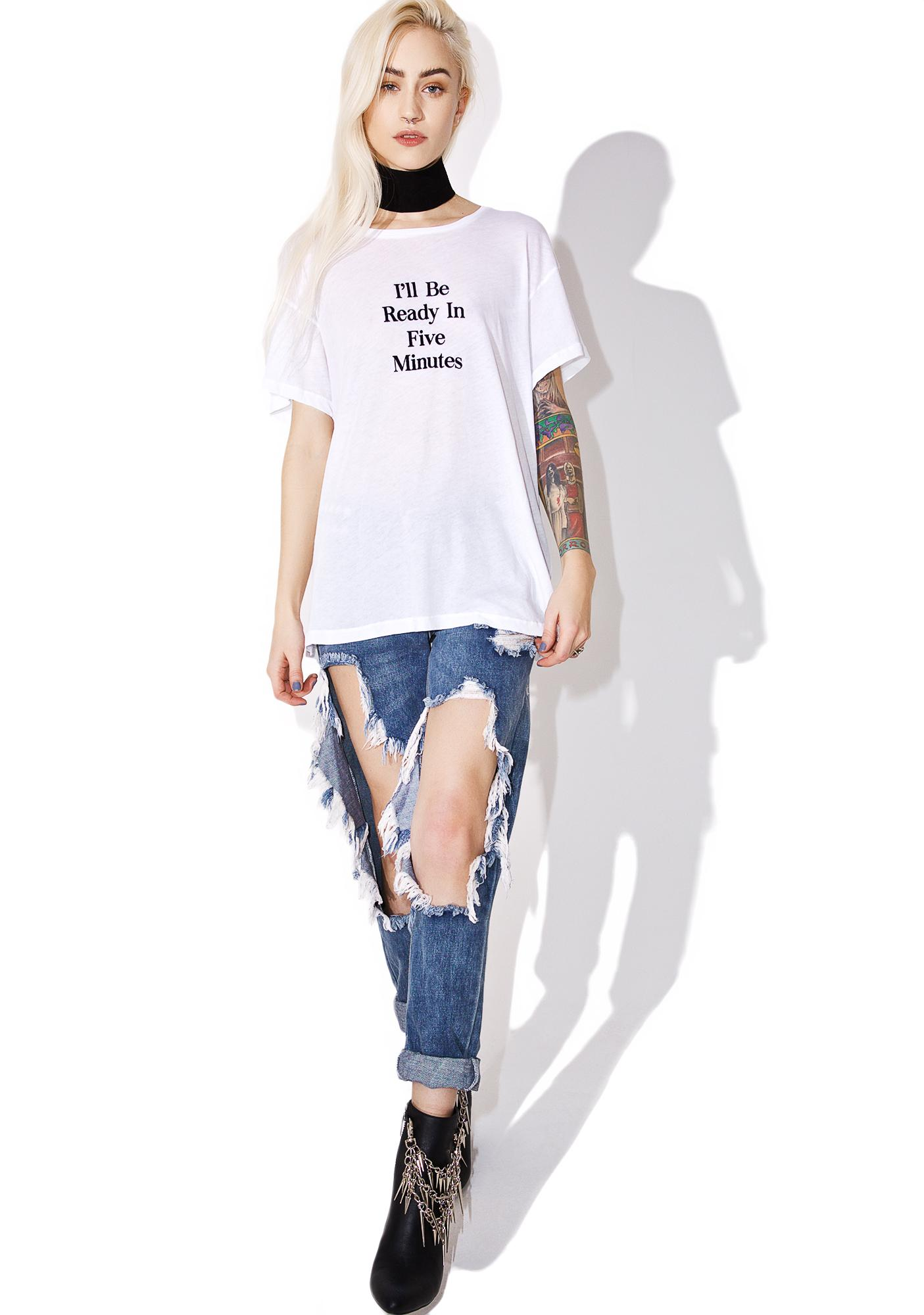 Wildfox Couture Ready In Five Tee
