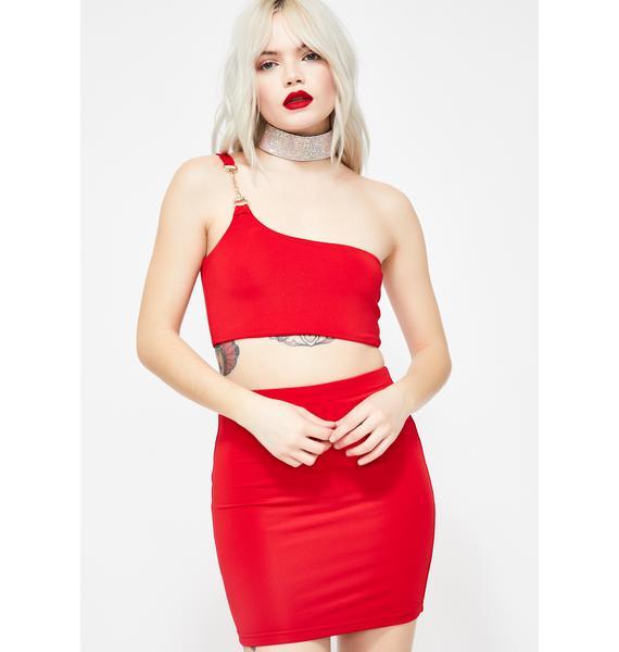 Oh My Goddess Skirt Set