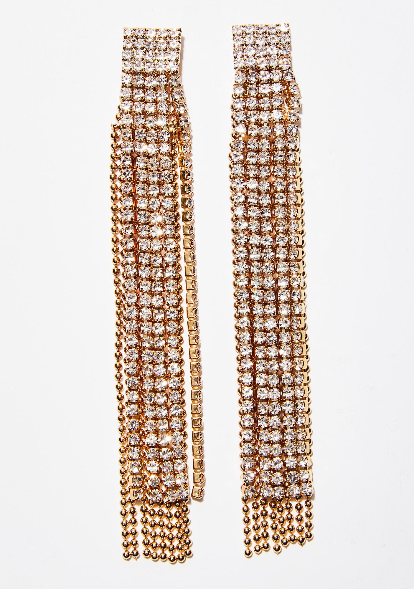 Drippin' Gold Earrings
