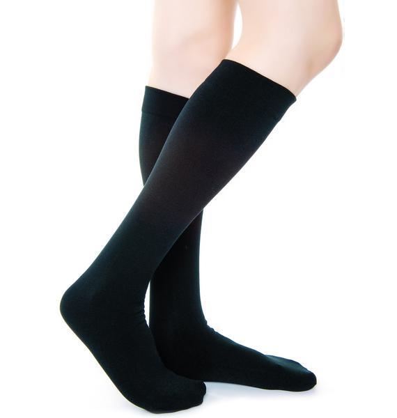 Plush Fleece-Lined Knee Highs