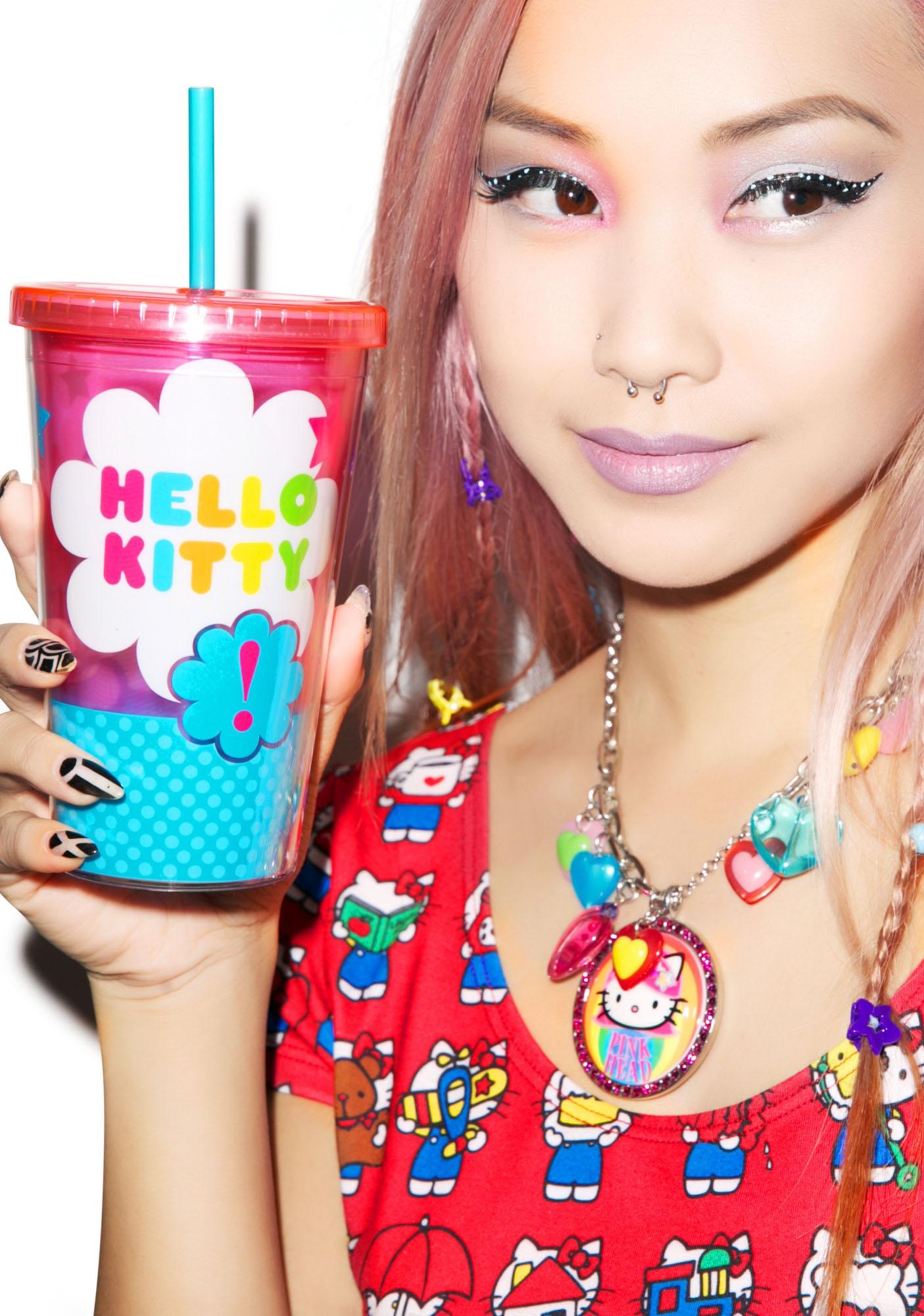 Hello Kitty Stars Travel Cup