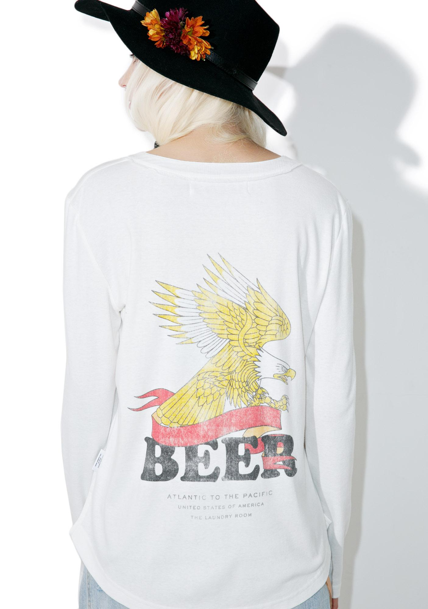 The Laundry Room Beer Banner Shirt