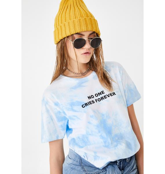 Yeah Bunny No One Cries Forever Graphic Tee