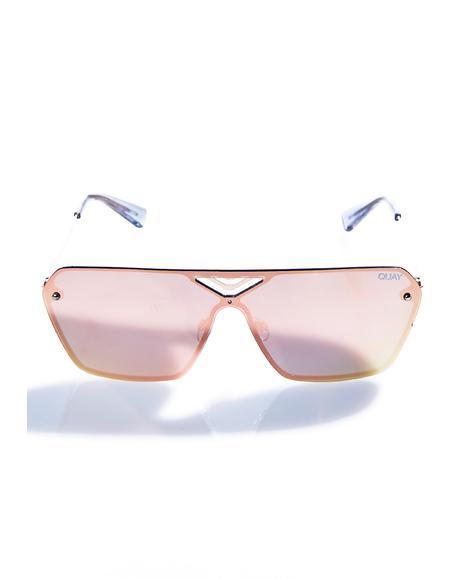 Pink Stargaze Sunglasses