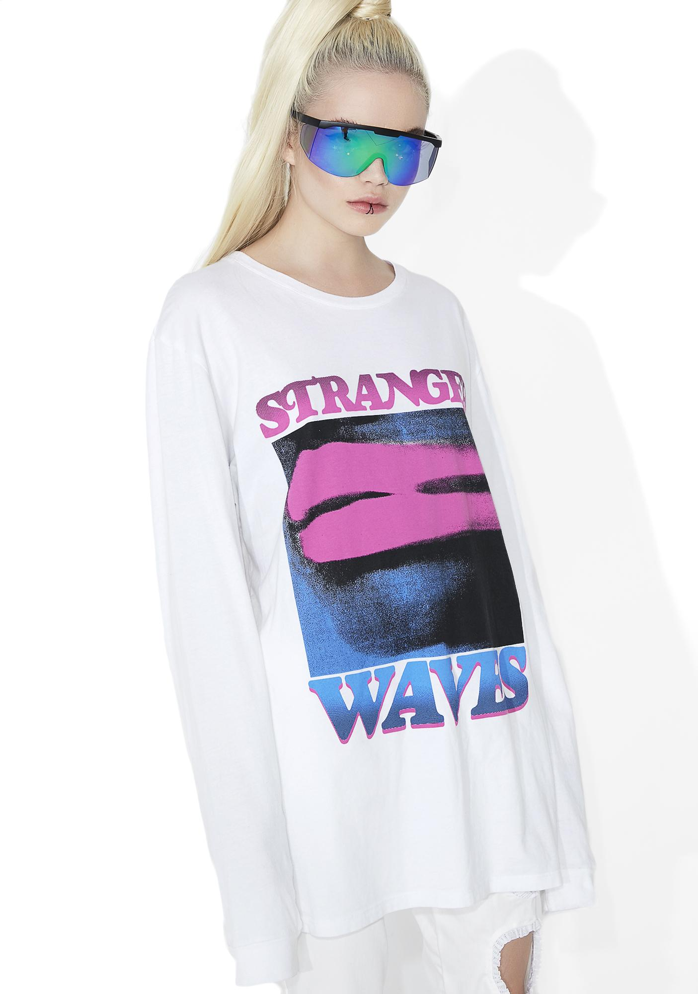 Surf is Dead Lipstick Long Sleeve Tee