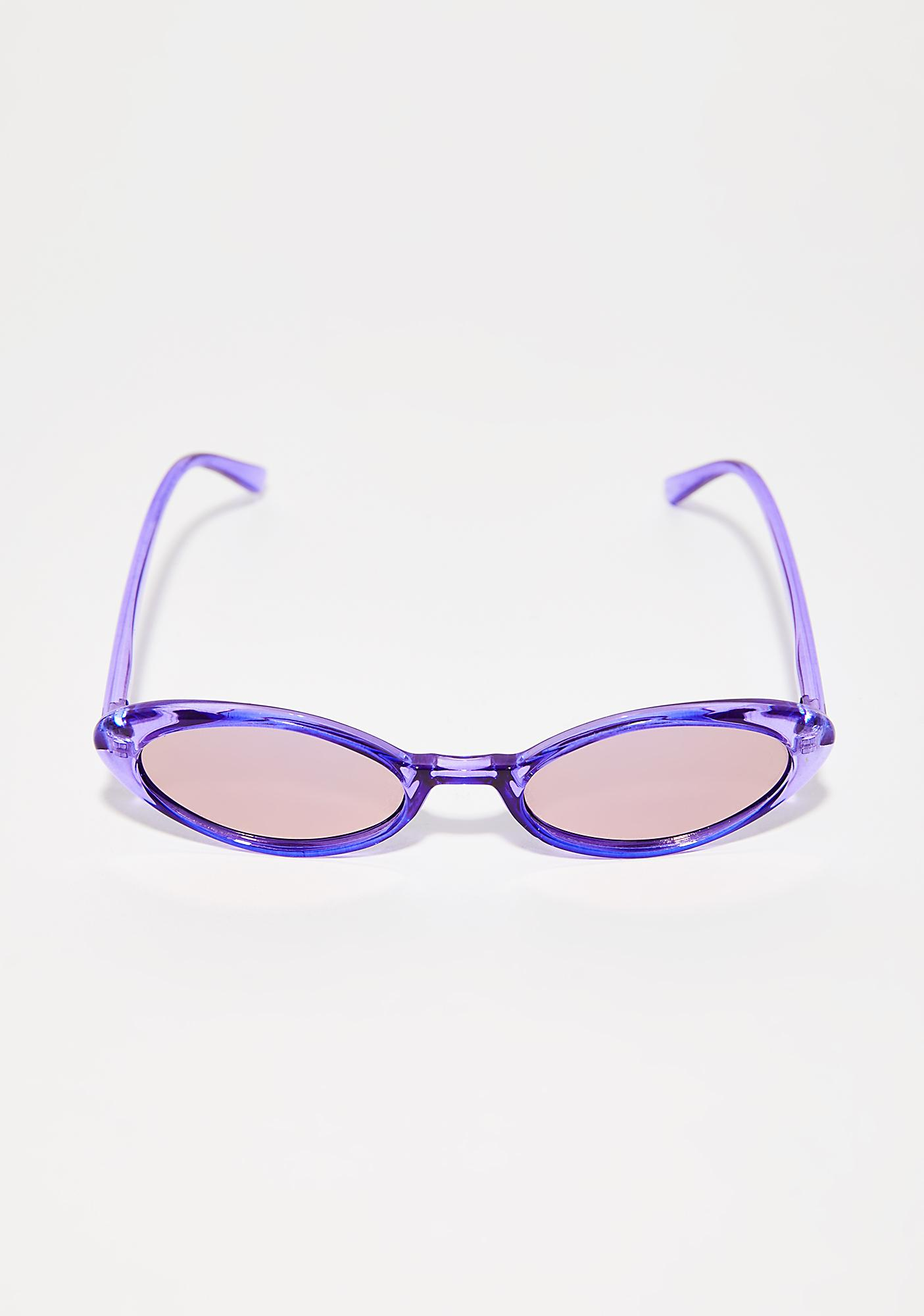 Violet Hardly Spotted Sunglasses