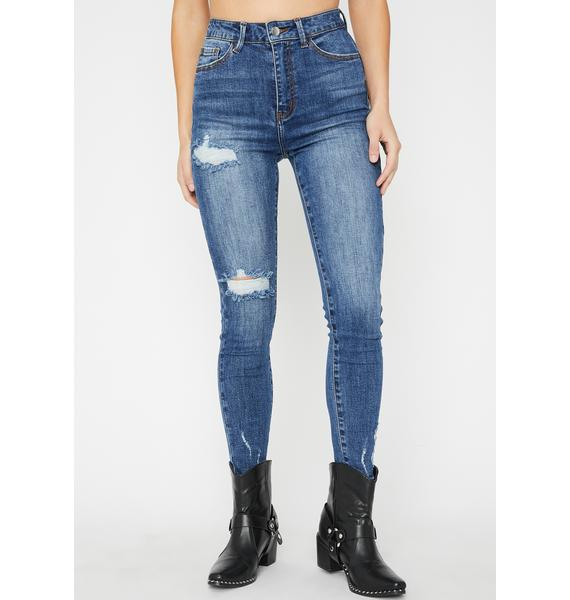 Play With Fire Skinny Jeans