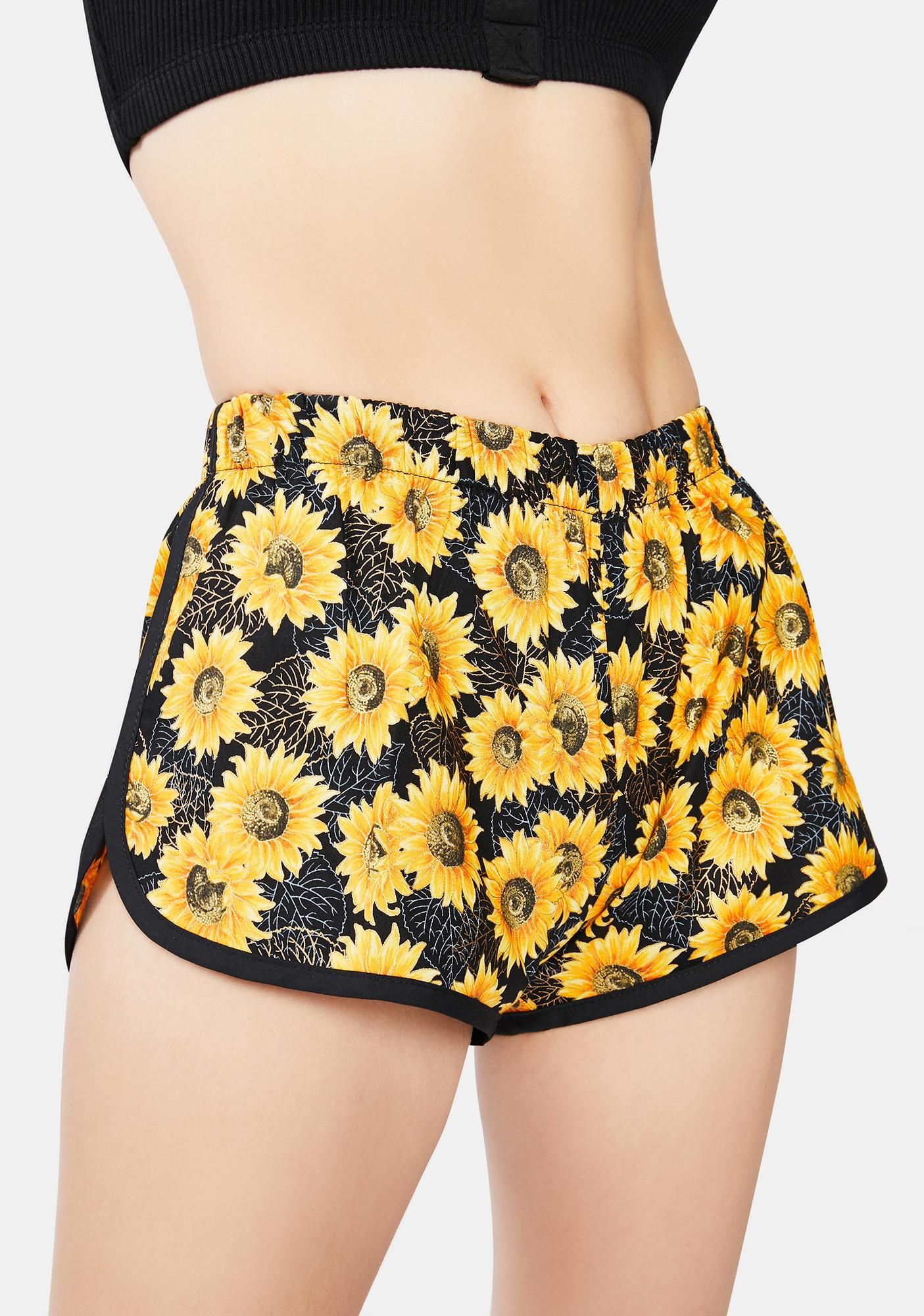 Rojas Sunflower Lounge Shorts