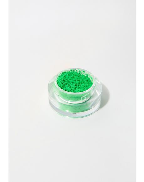 Neon Green Loose Pigment