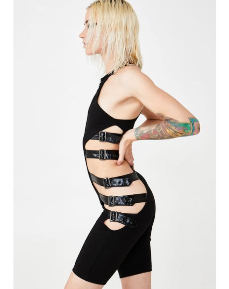 Fury Road Buckled Romper