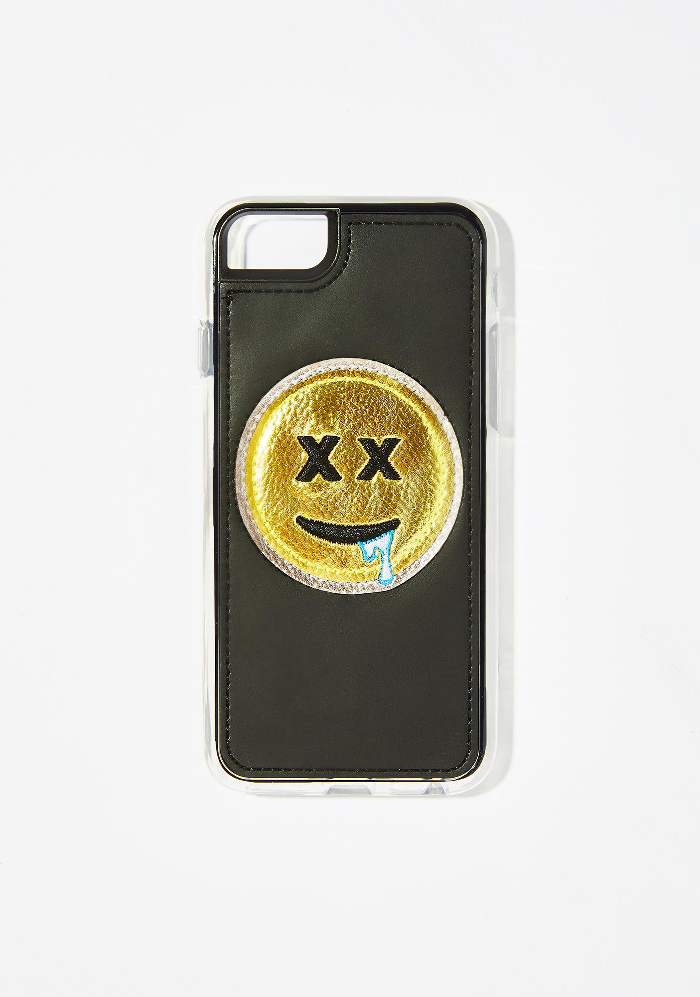Zero Gravity Drool Embroidered iPhone Case