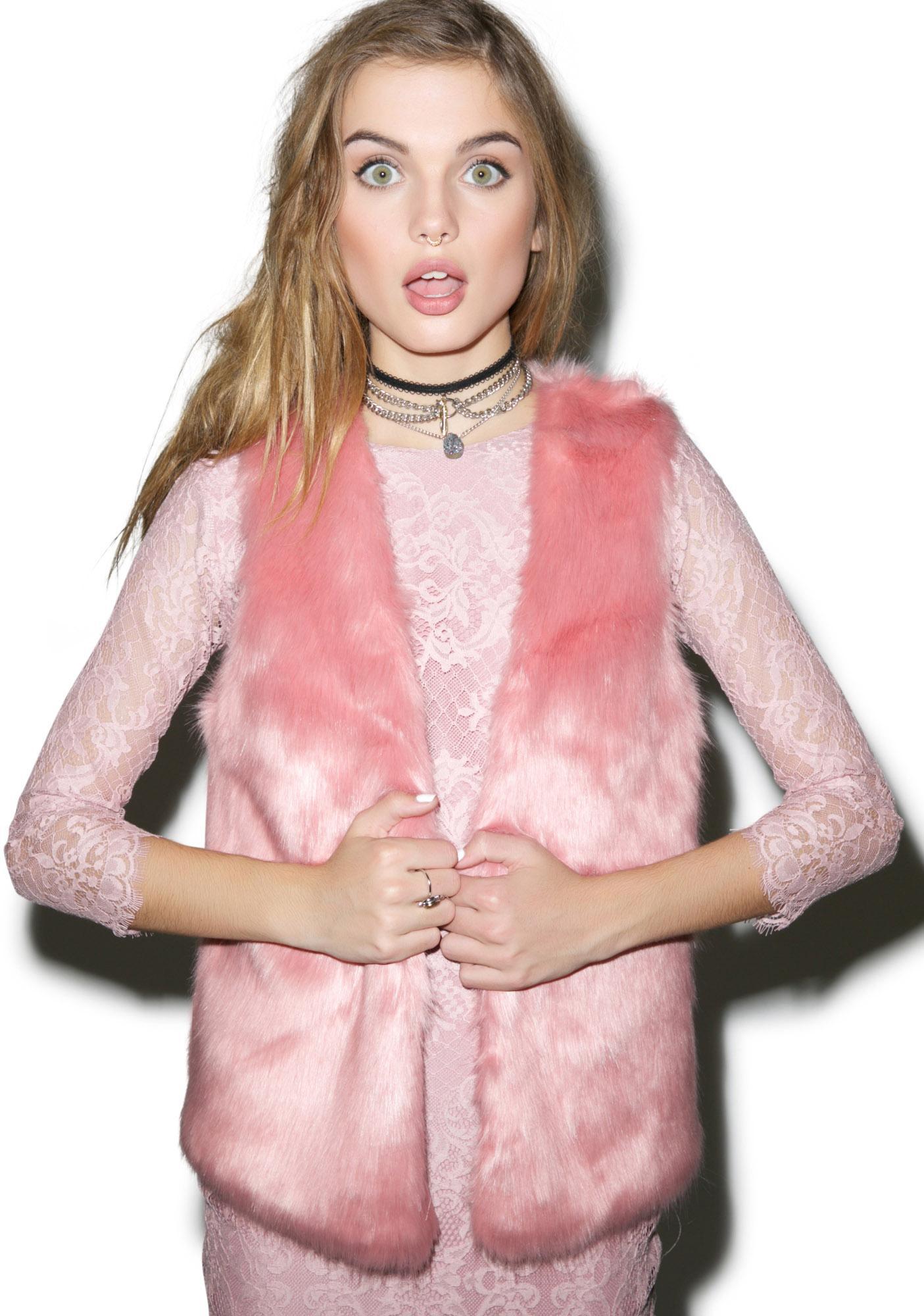 Unreal Fur Go Faux Vest