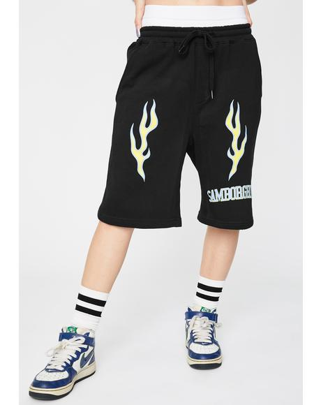 Spider University Basketball Shorts
