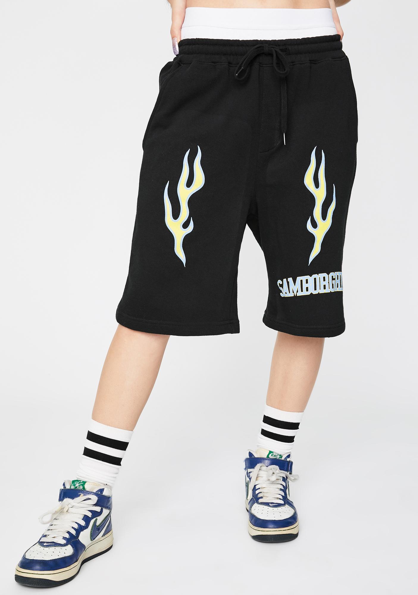 Samborghini Spider University Basketball Shorts