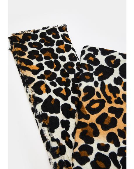 Prowl Patrol Leopard Scarf