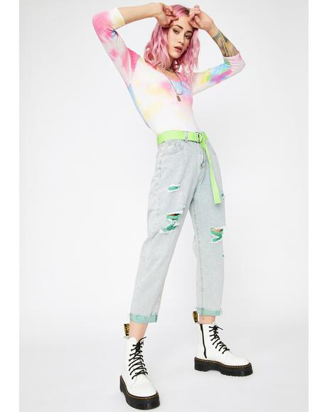Punk Wave Boyfriend Jeans