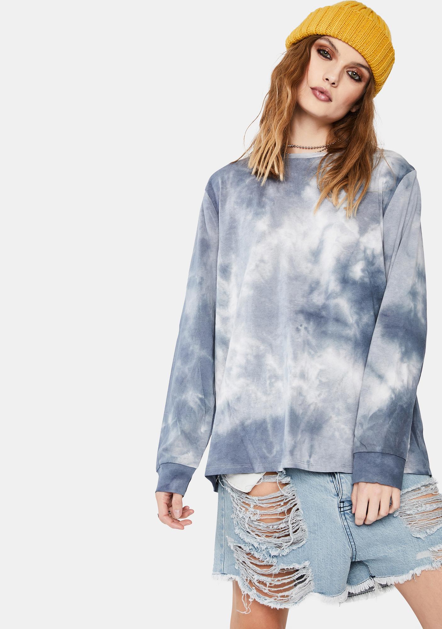 Dress Forum  Slate Tie Dye Pullover