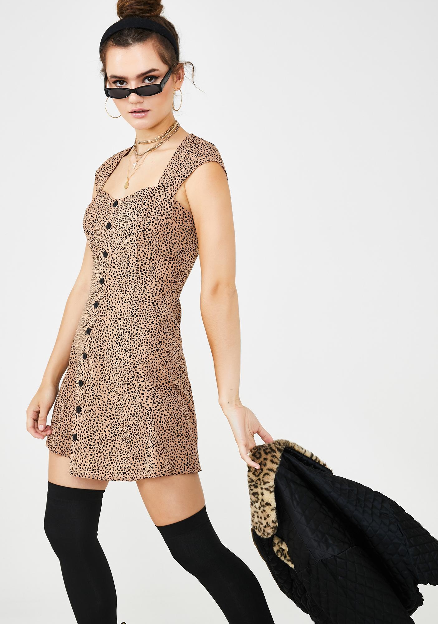 Catty Brat Babydoll Dress