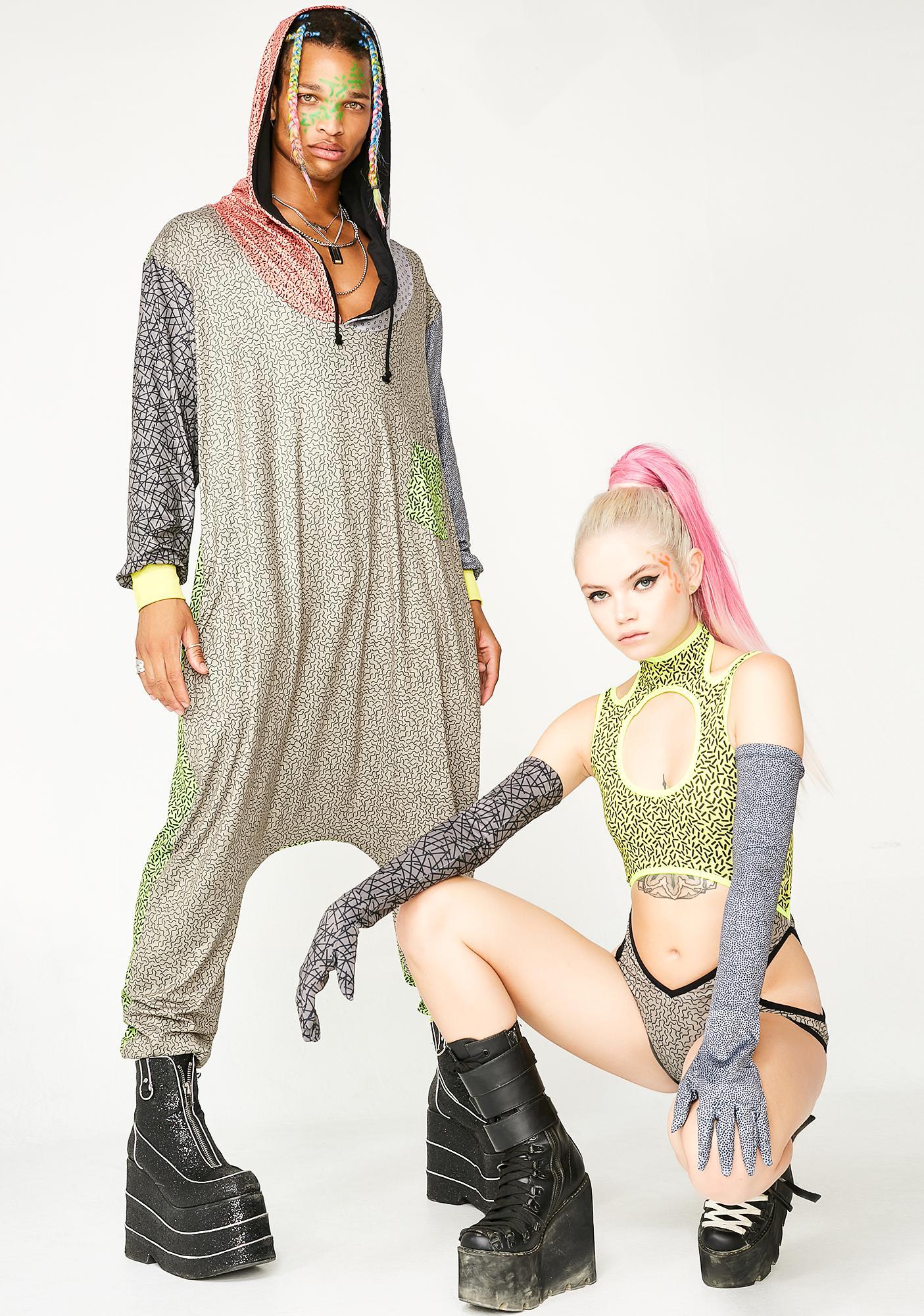 Club Exx Kozy Kat Unisexx Jumpsuit