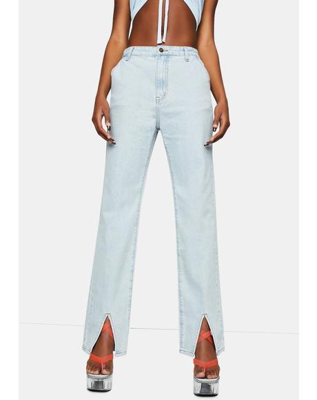 Cobain Slit Jeans