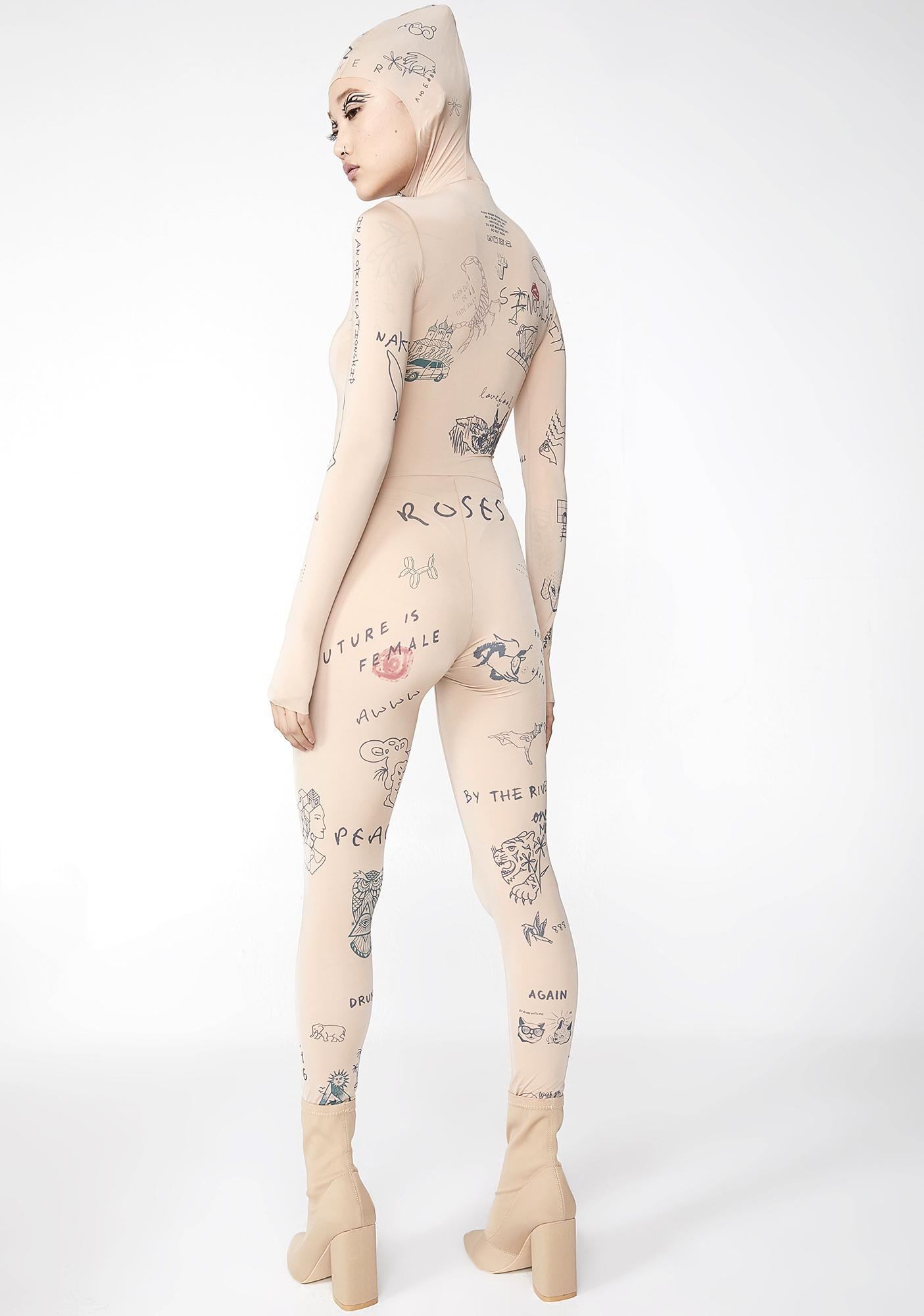 TATTOOSWEATERS Printed Overall