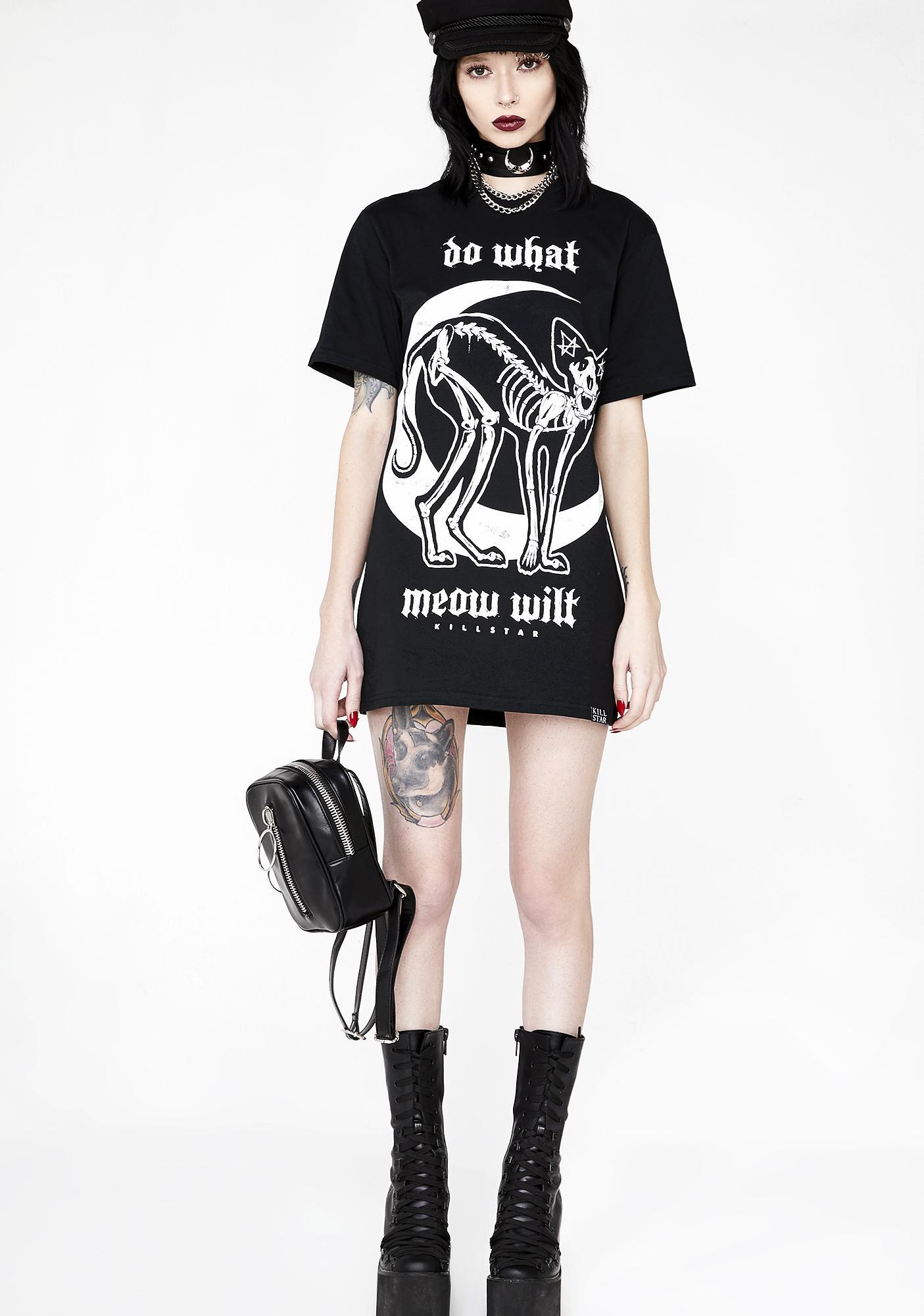 Killstar C'mon Meow T-Shirt