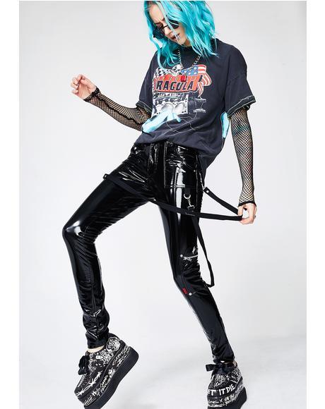 Vinyl Bondage Pants