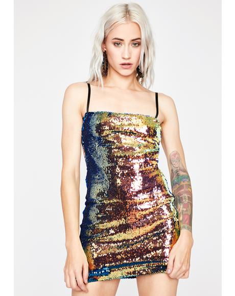 Girlz Nite Out Sequin Dress