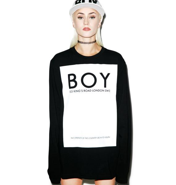 BOY London Kings Road Sweater Tee