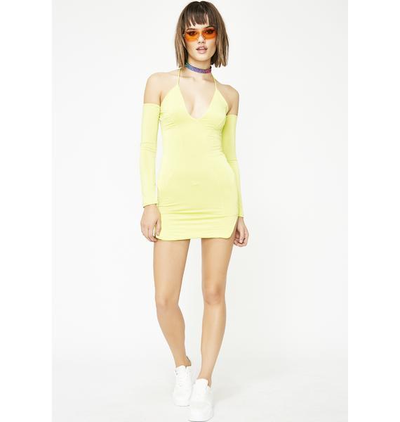 No Type Mini Dress