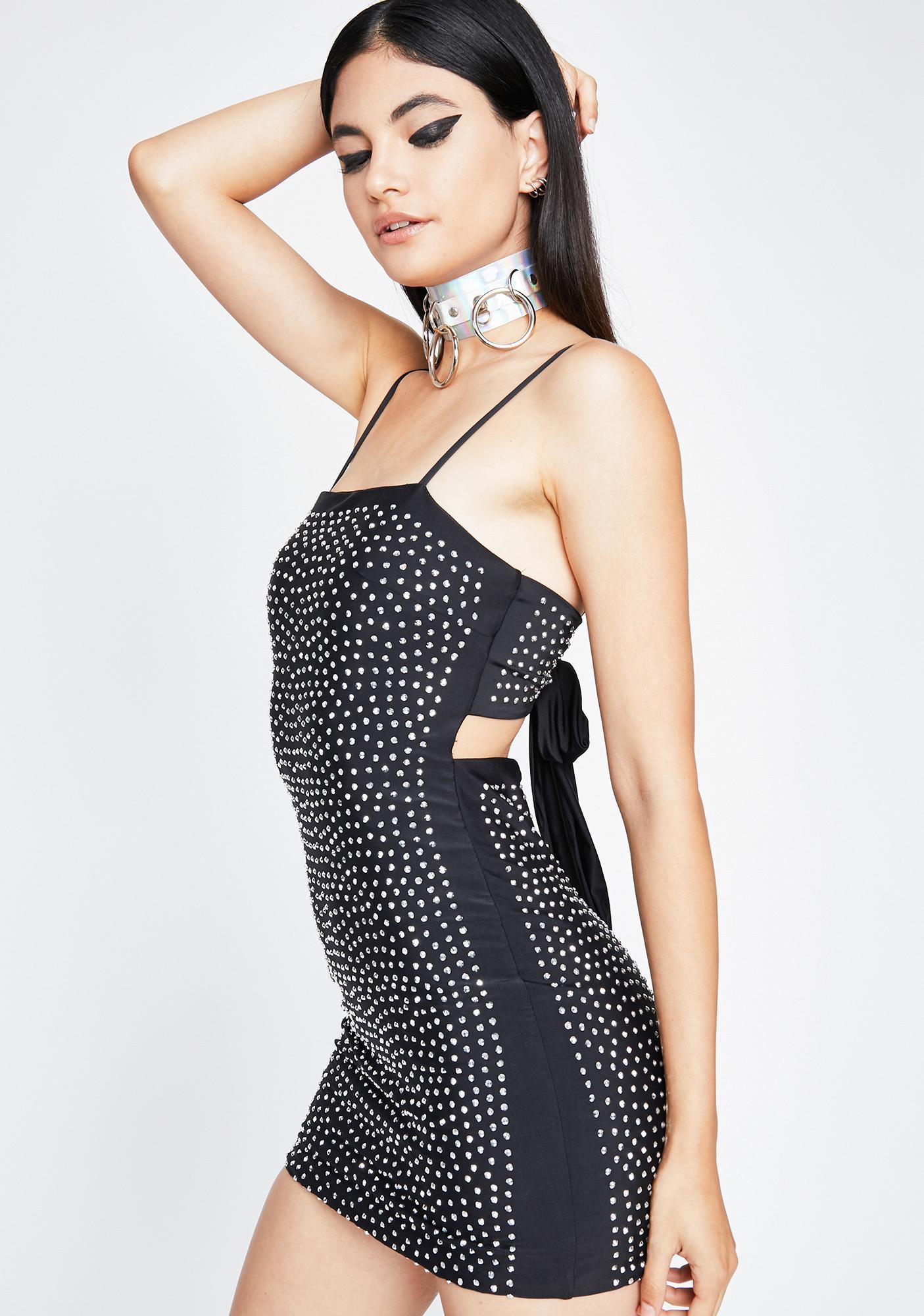Lunar Rise N' Shine Mini Dress