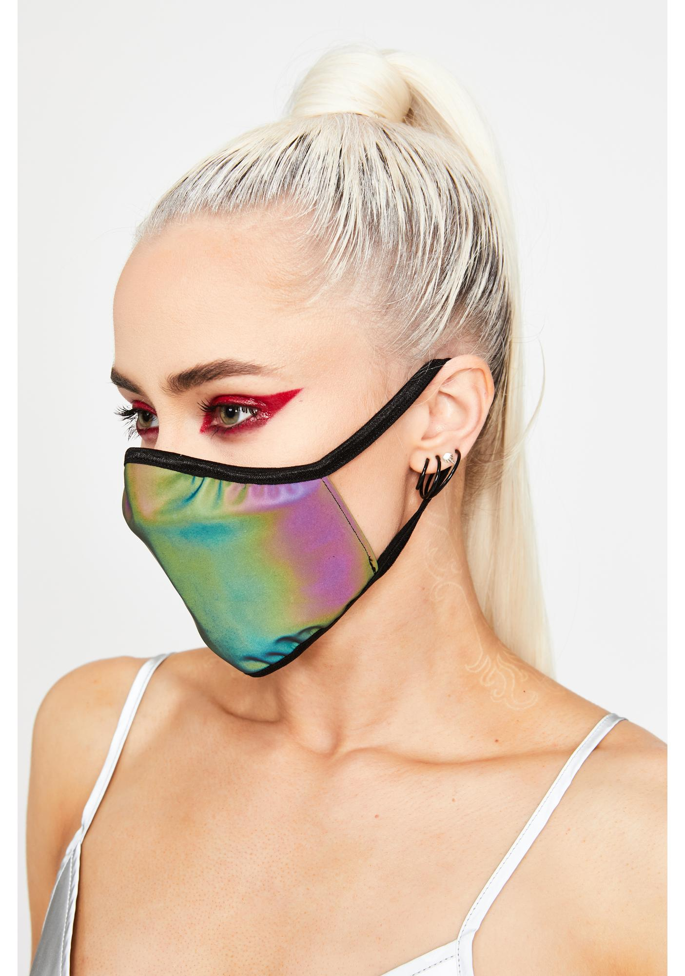 Stinnys Neon Visions Mouth Mask