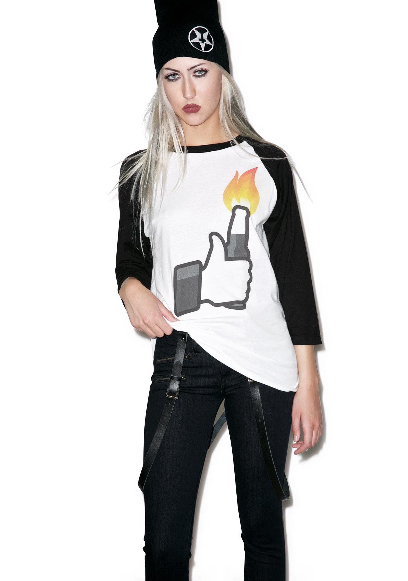 ABCNT Cocktail Chaos Baseball Tee
