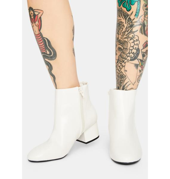 Bliss Give Me A Sign Ankle Boots