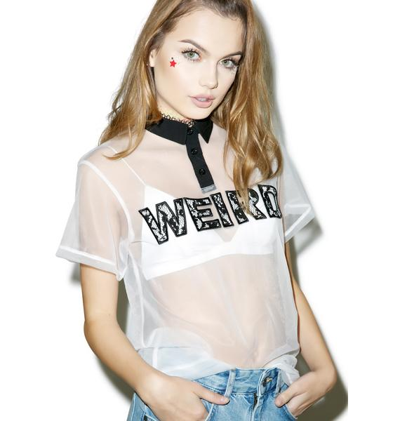 Totally Transparent Tee