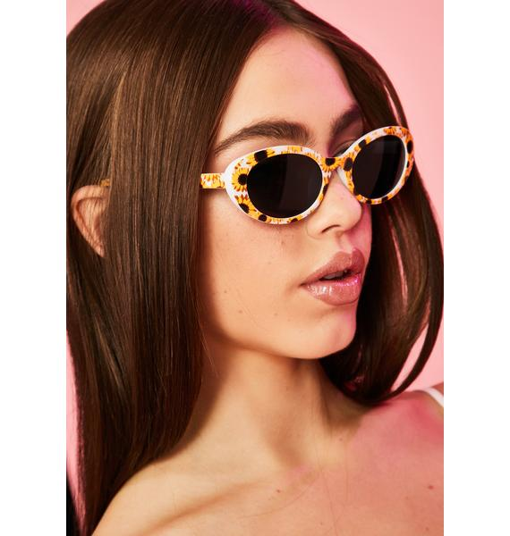 No Matter The Weather Oval Sunglasses