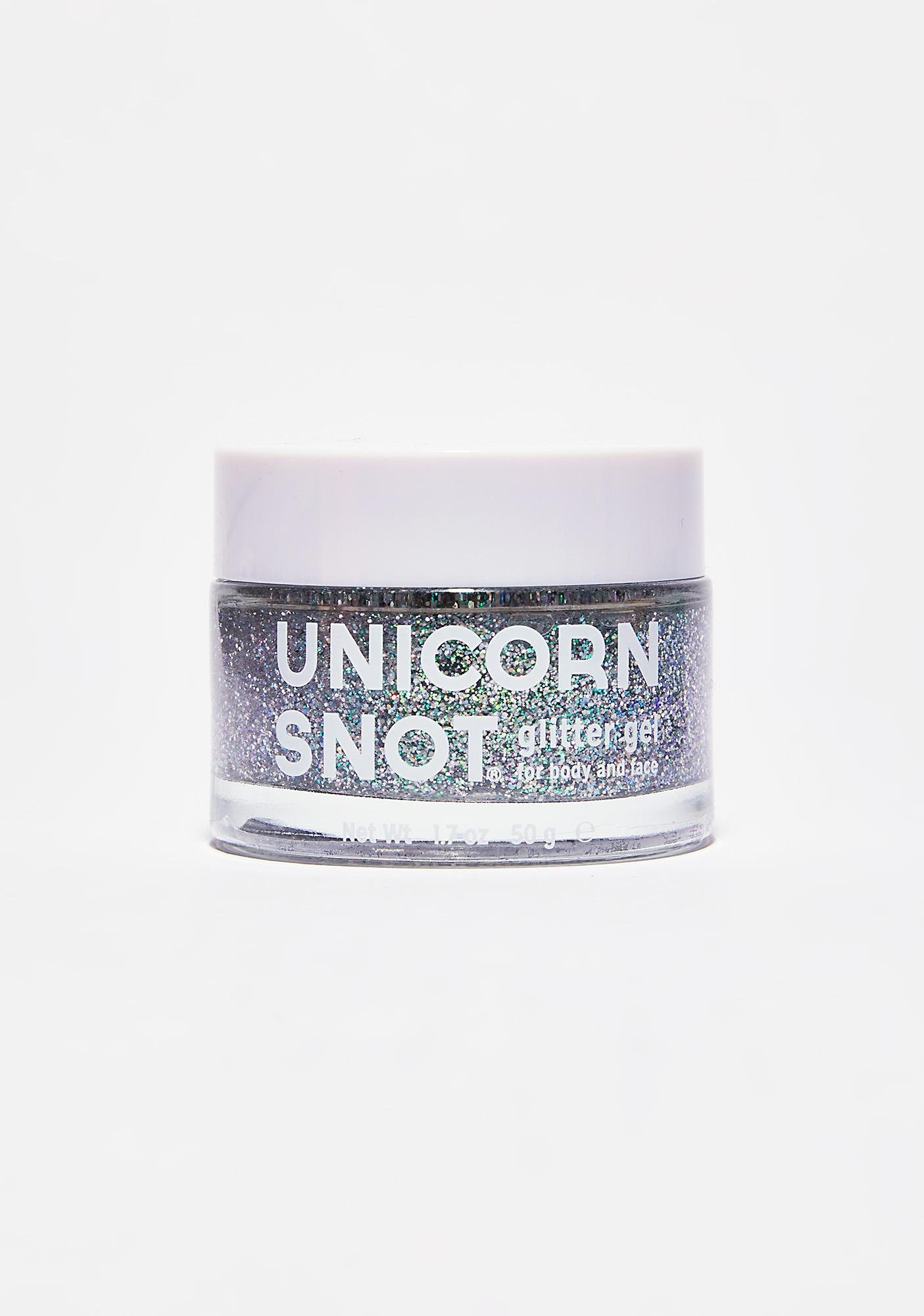 Unicorn Snot Unicorn Snot Silver Glitter Gel