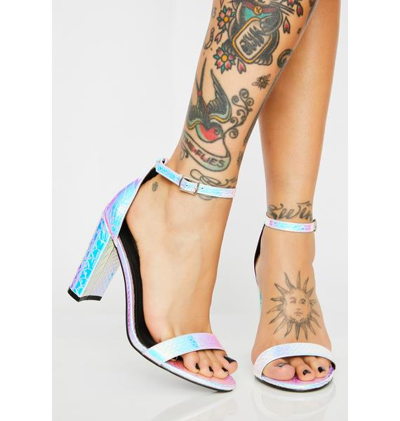 Superficial Slay Holographic Heels