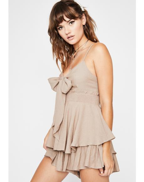 A Lass With Sass Ruffle Romper