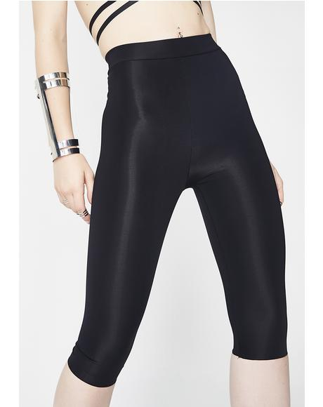 Thief In The Night Cropped Leggings