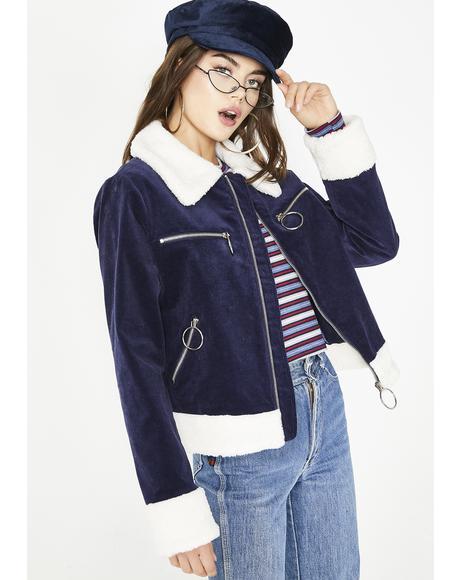 Uptown Babe Sherpa Jacket