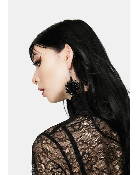 Wicked Wraith Gothic Drop Earrings