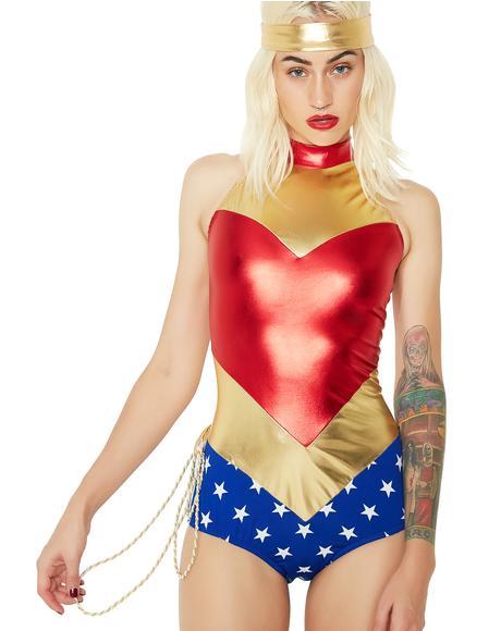 Wonder Babe Costume Set