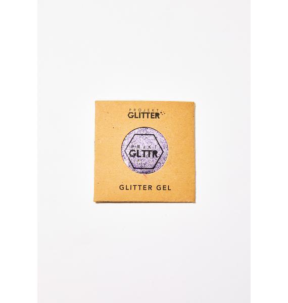 Projekt Glitter Purple Biodegradable Glitter Gel